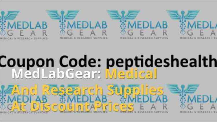 MedlabGear Coupon Code - Med lab Gear Coupon Code: peptideshealth